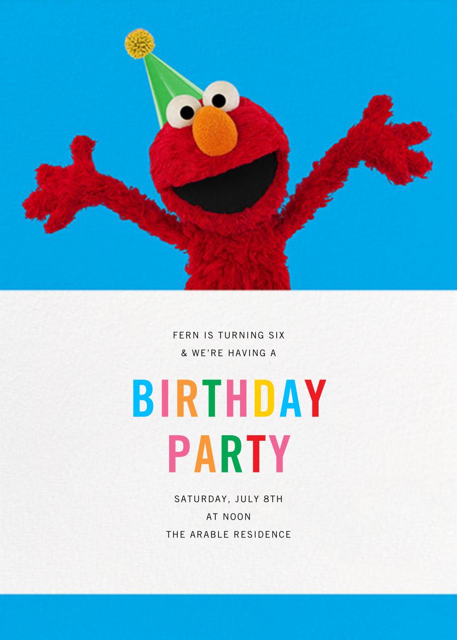 Elmo's Tickled - Sesame Street