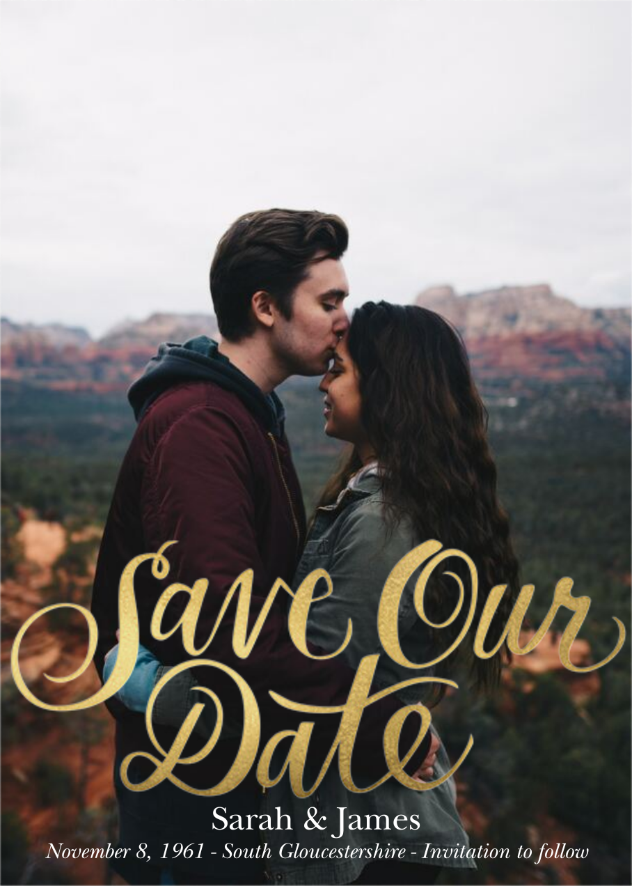 Save Our Date - Paper Source - Photo