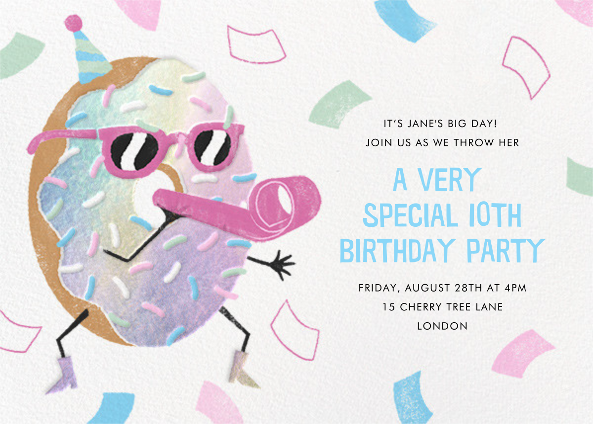 Hole Lot of Fun - Paperless Post - Kids' birthday