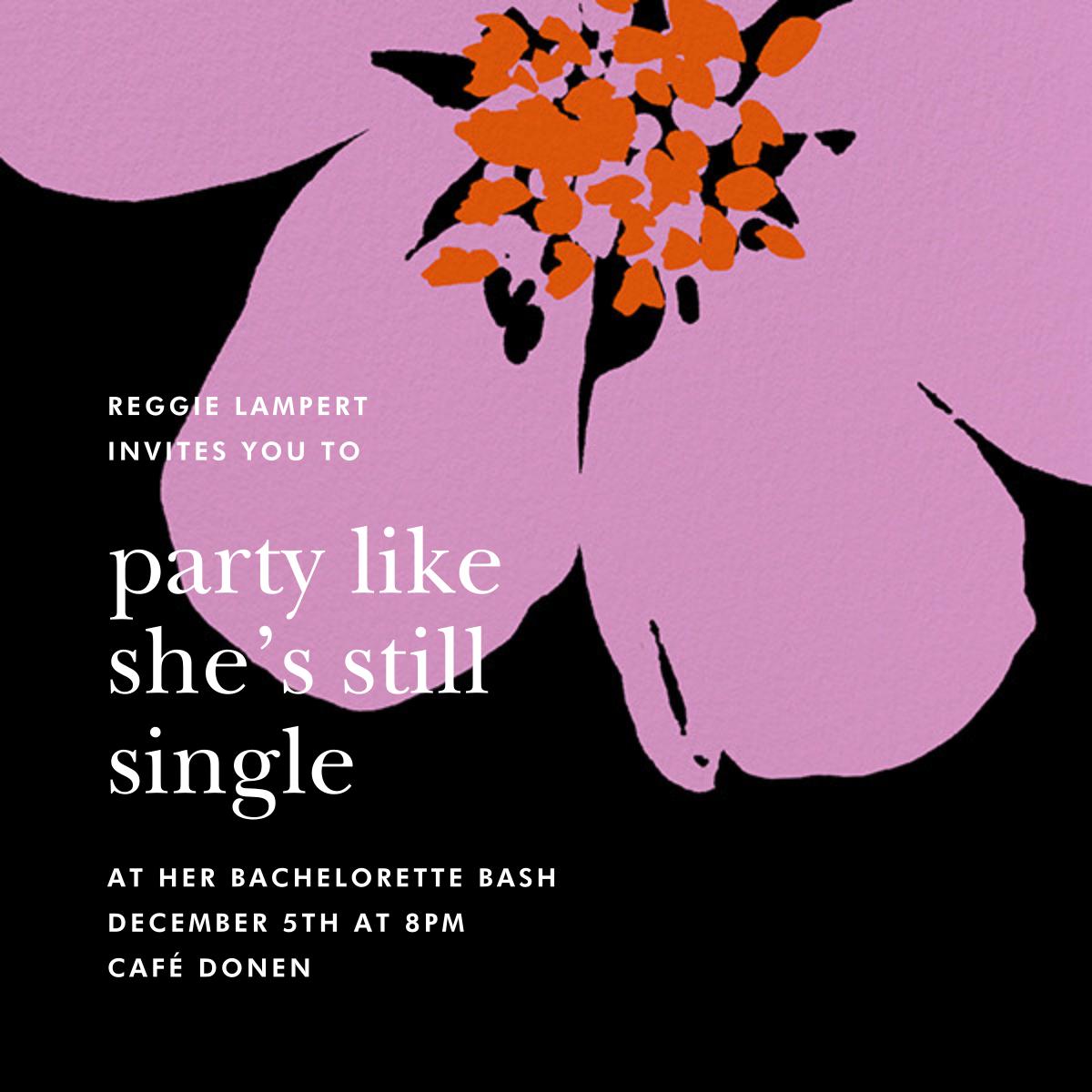 Grand Flora - Black - kate spade new york - Bachelorette party
