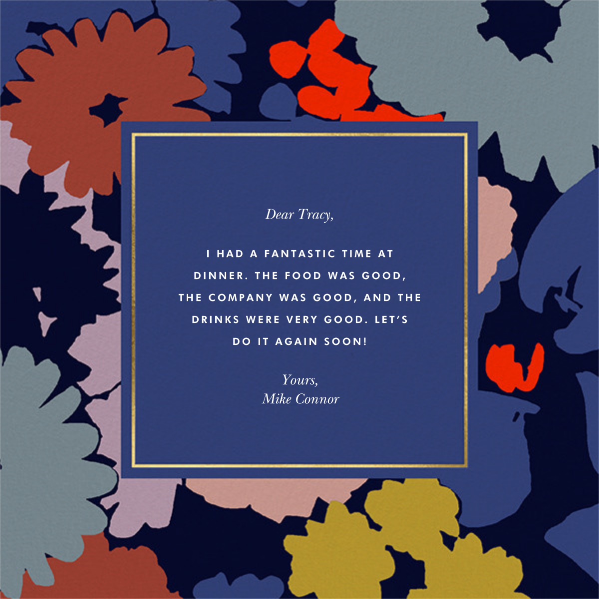 Swing Floral - kate spade new york - Graduation thank you cards