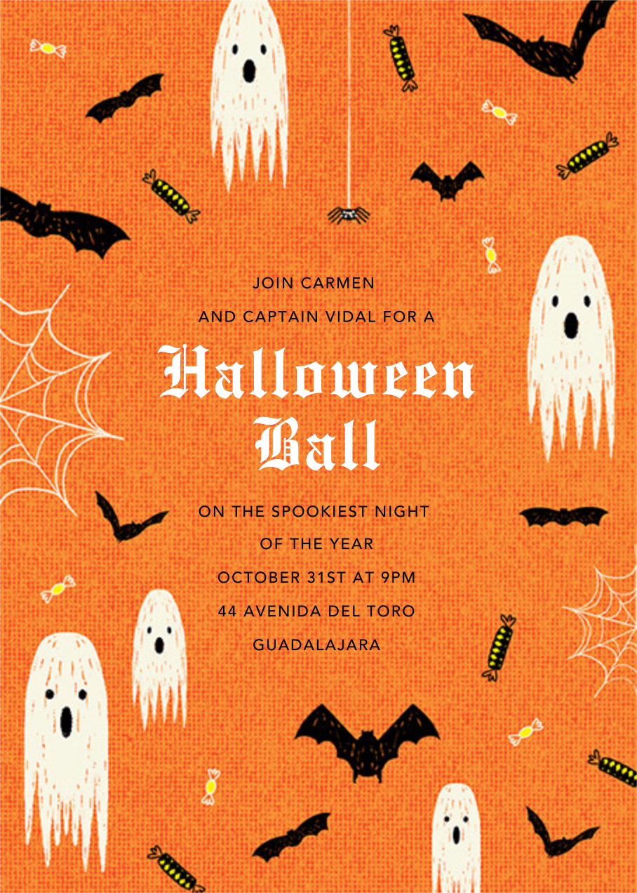 Halloween Ball - Paperless Post - Halloween