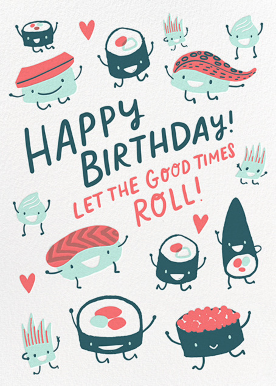 Roll Out (Greeting) - Hello!Lucky - Birthday