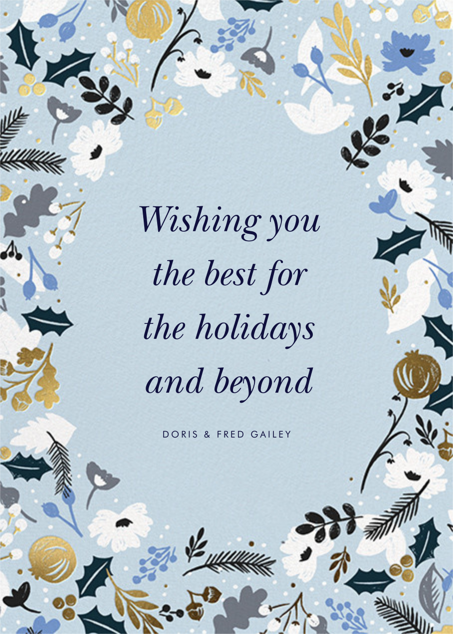 Holiday Sun Photo - Rifle Paper Co. - Back