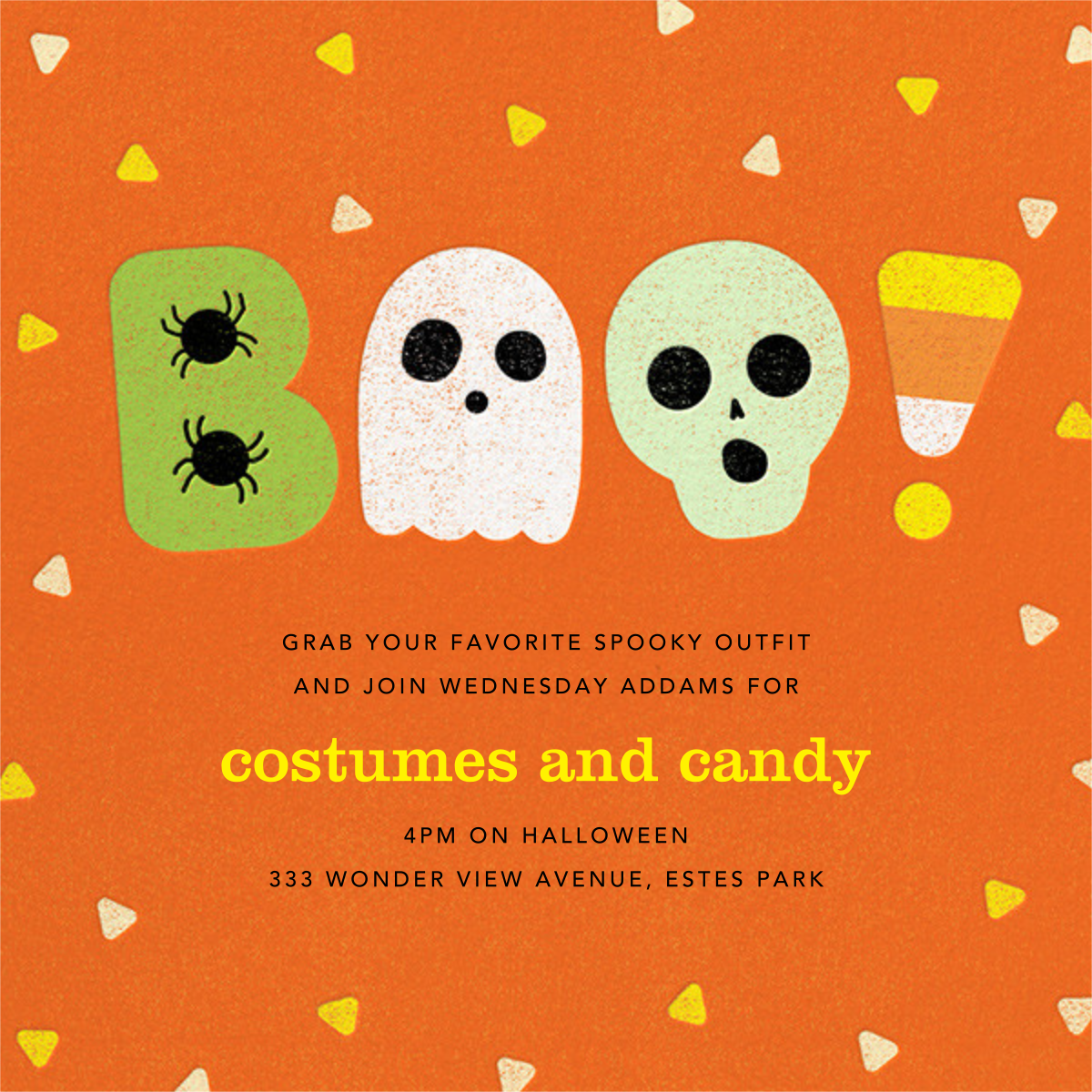 Candy Dandy - Paperless Post - Halloween