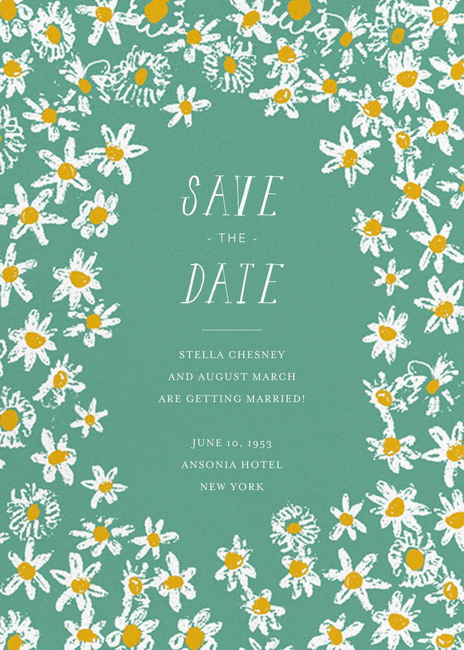 Among the Daisies - Amazon - Mr. Boddington's Studio - Save the date