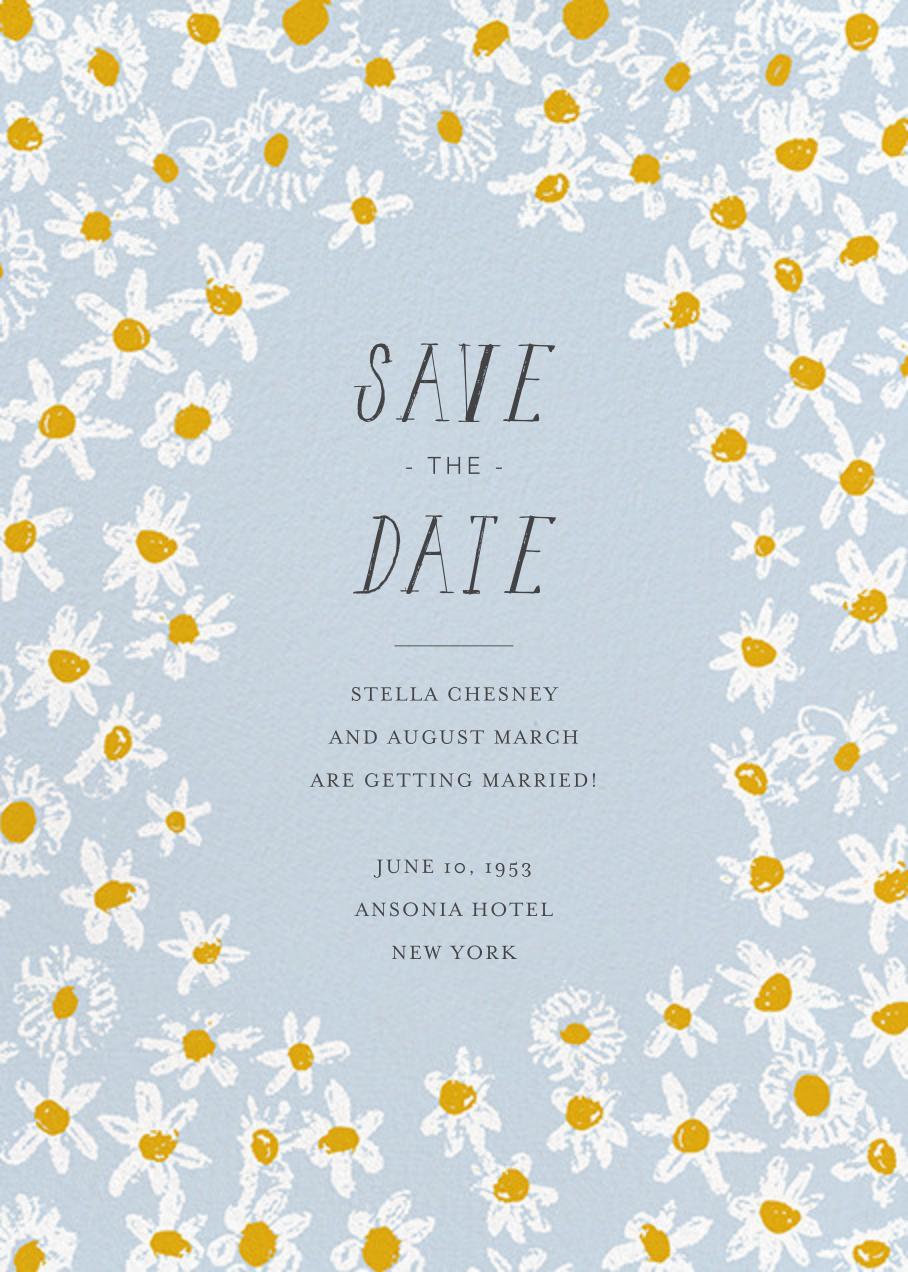 Among the Daisies - Tundra - Mr. Boddington's Studio - Save the date