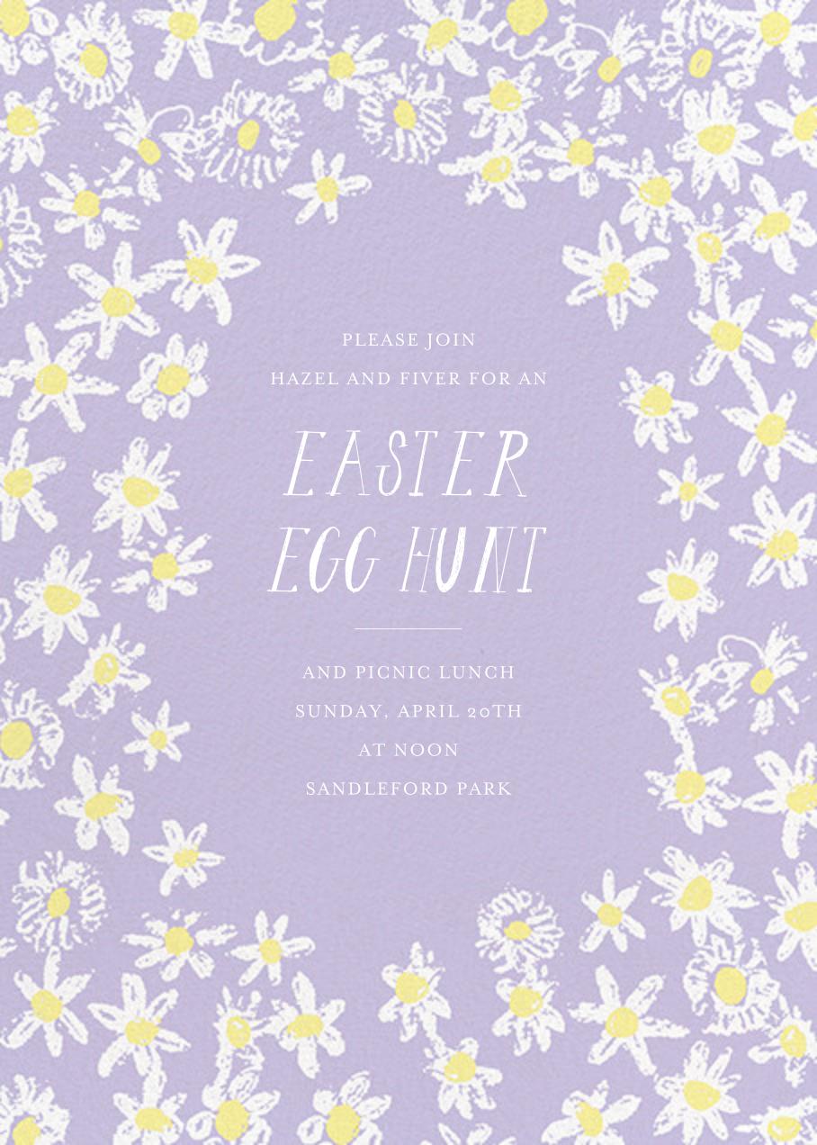 Among the Daisies - Lavender - Mr. Boddington's Studio - Easter