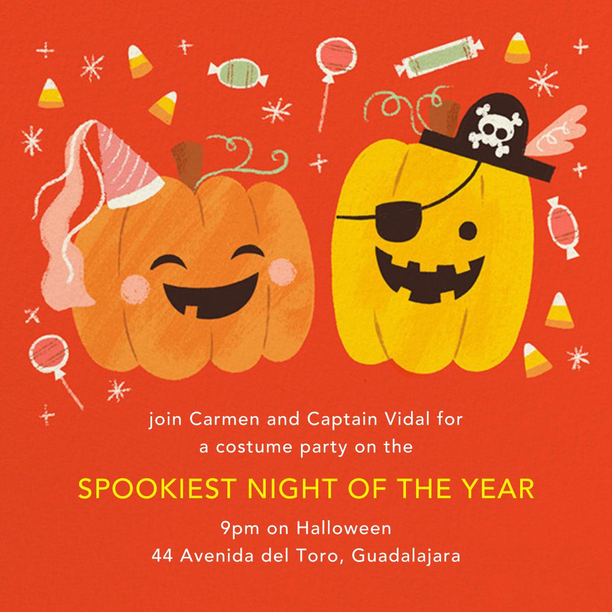 Party Pumpkins - Paperless Post - Halloween