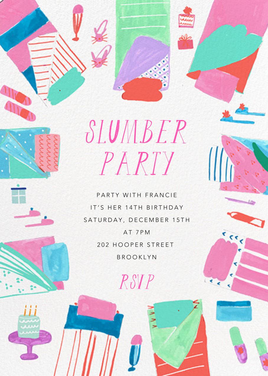 Bring your PJs - Mr. Boddington's Studio - Kids' birthday