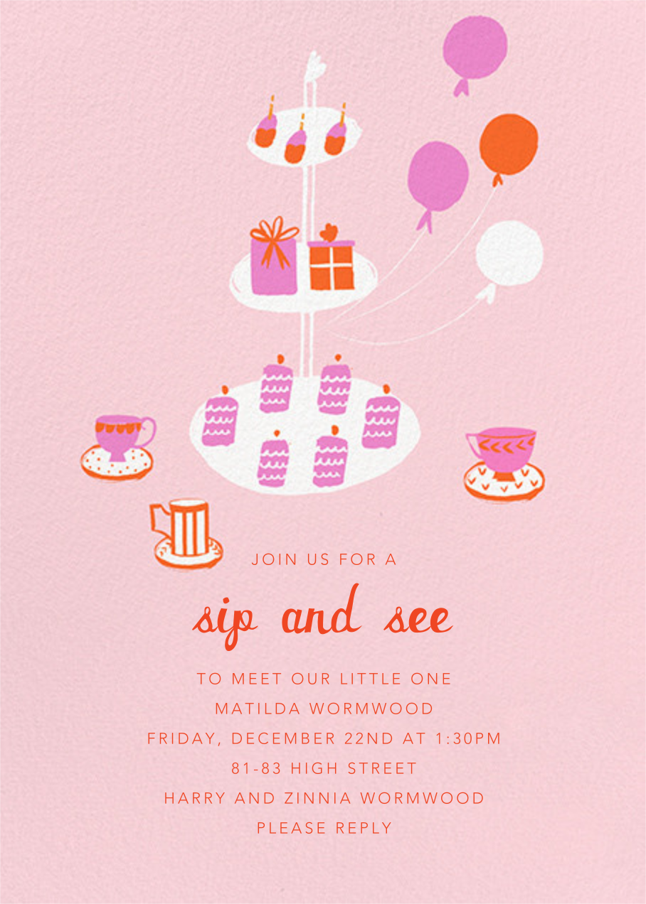 Sips and Sweets - Mr. Boddington's Studio - Sip and see