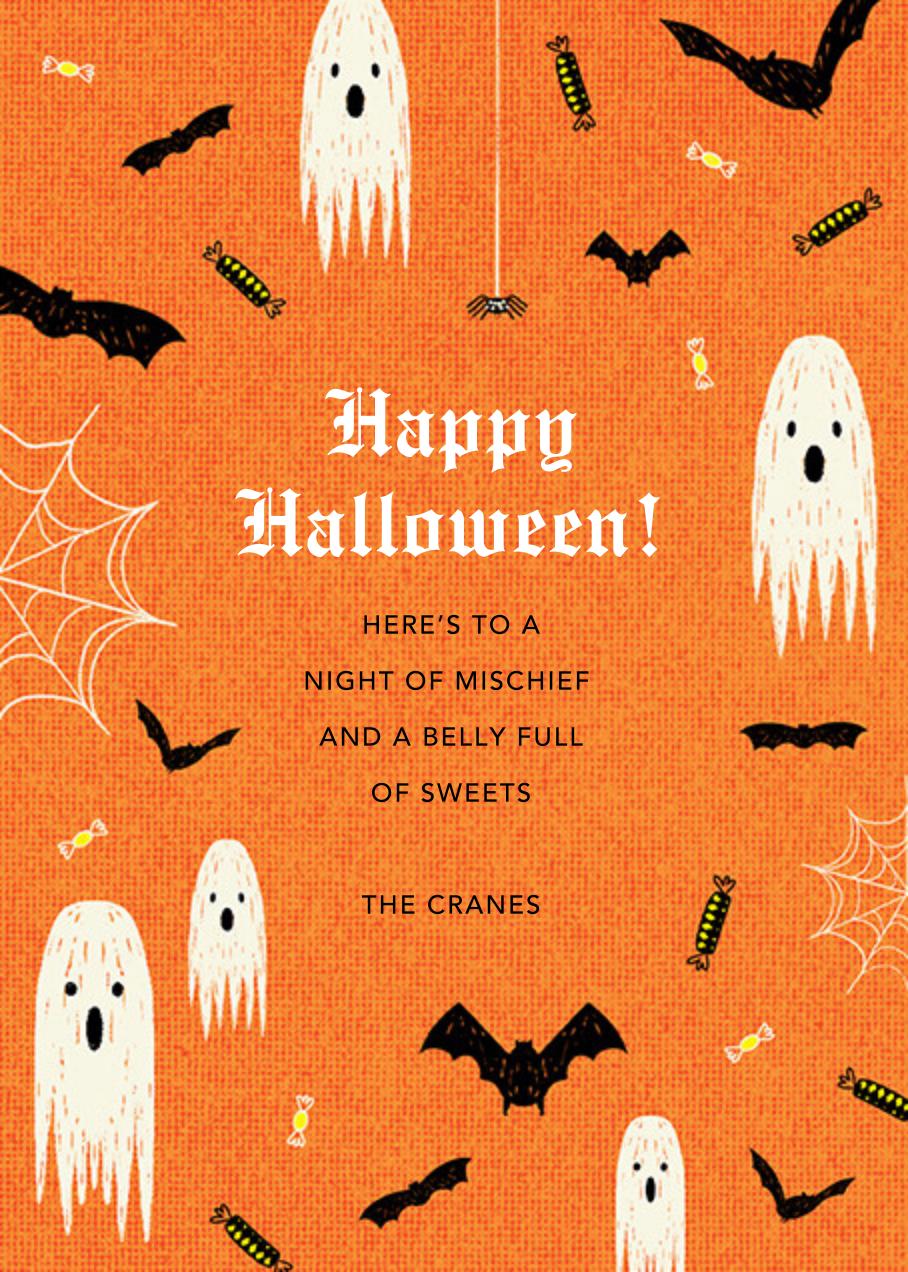 Halloween Ball - Paperless Post - Halloween