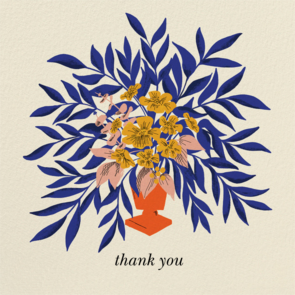 Bold Bouquet (Dylan Mierzwinski) - Red Cap Cards - Thank you
