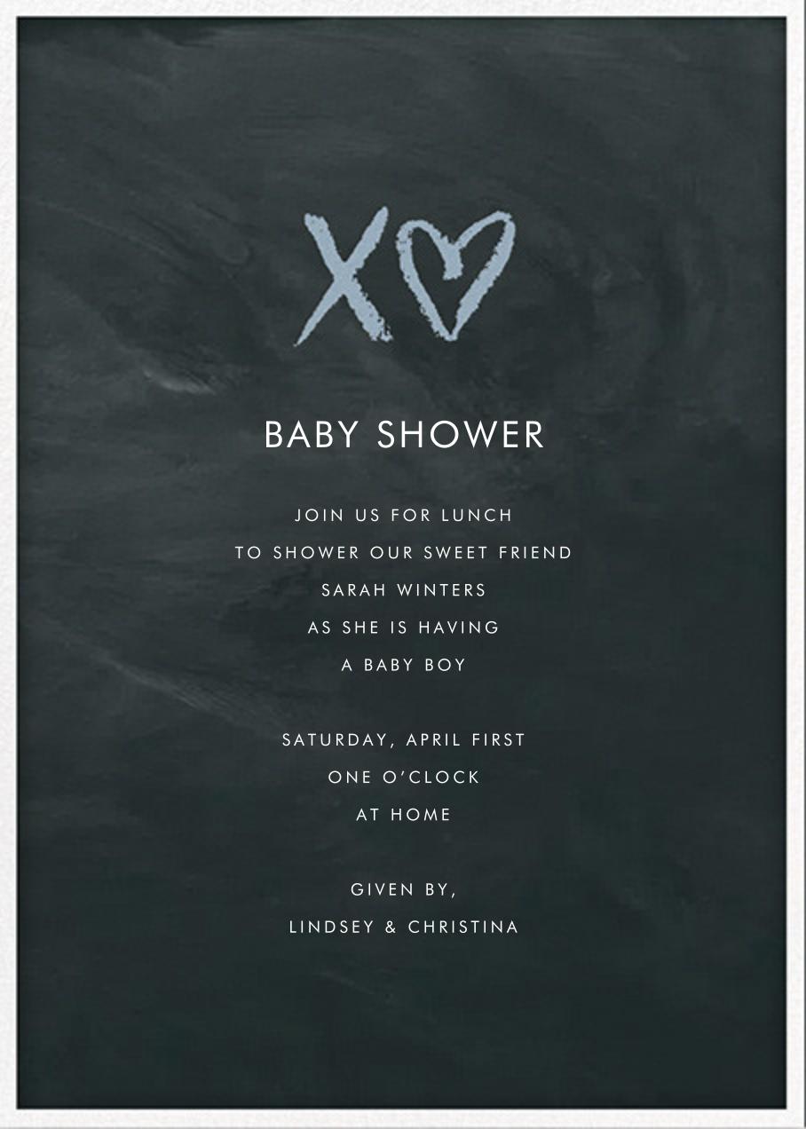 Sweet Chalk - Spring Rain - Sugar Paper - Baby shower
