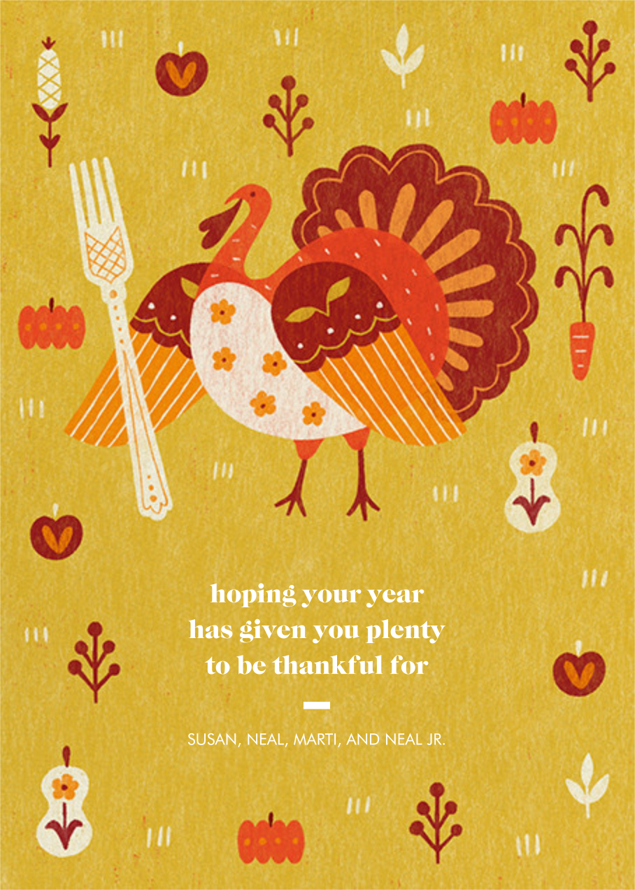 Big Fork - Paperless Post - Thanksgiving
