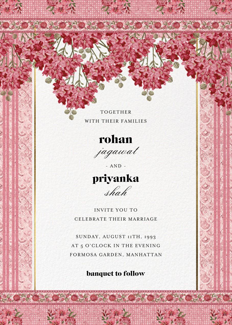 Rashia (Invitation) - Anita Dongre - Indian