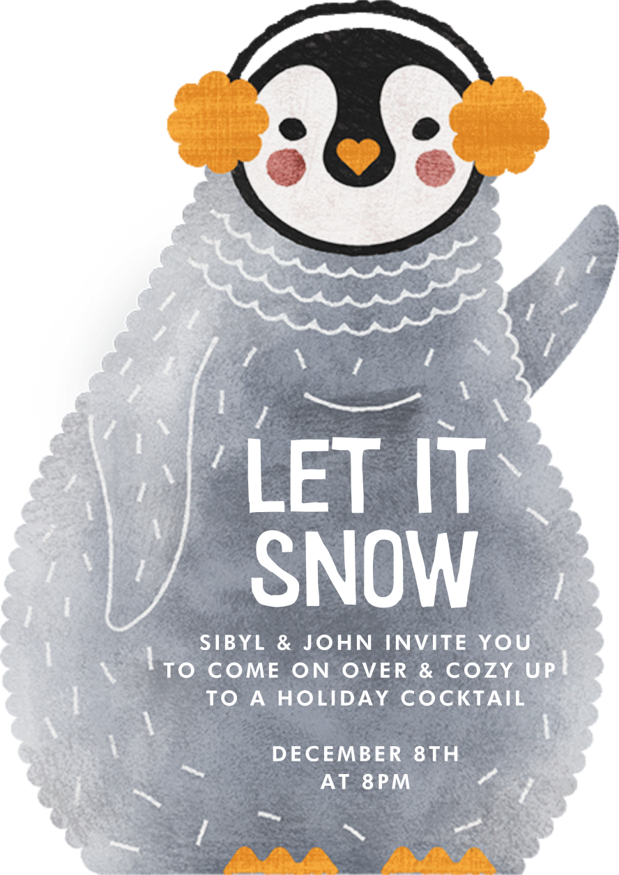 Ice and Cozy - Paperless Post - Winter entertaining