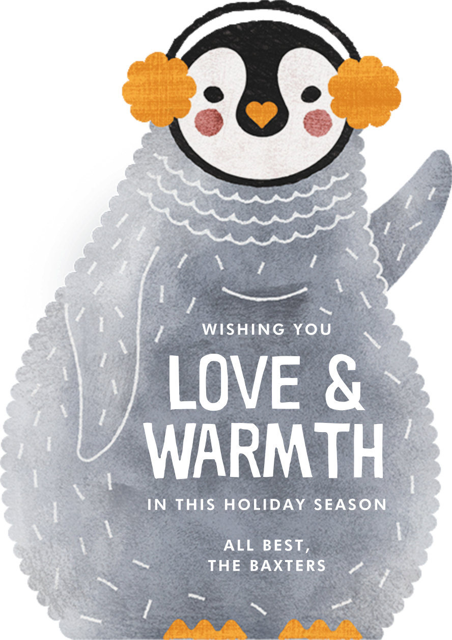 Ice and Cozy - Paperless Post - Holiday cards
