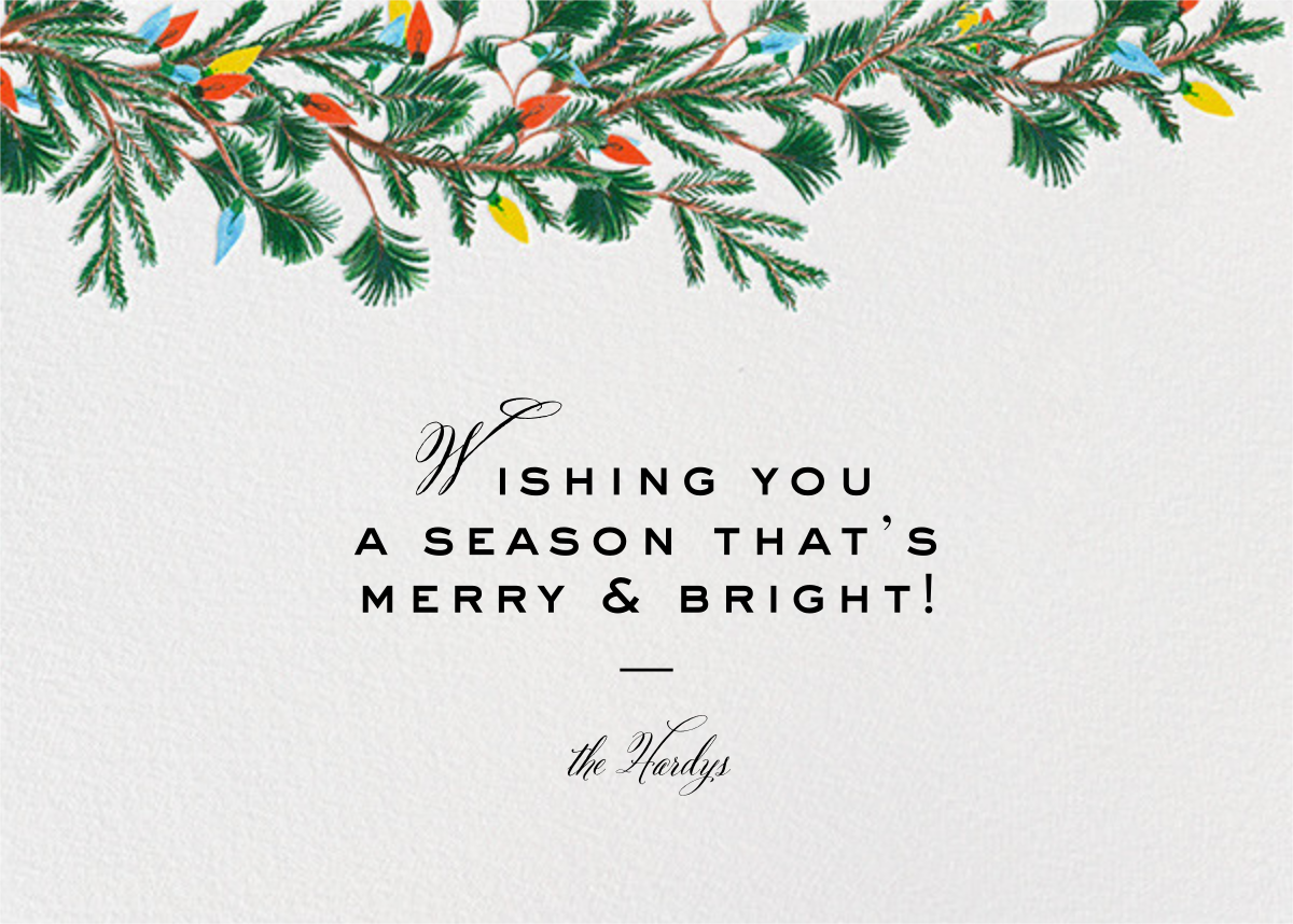 Branch Out (Horizontal) - Paperless Post - Company holiday cards