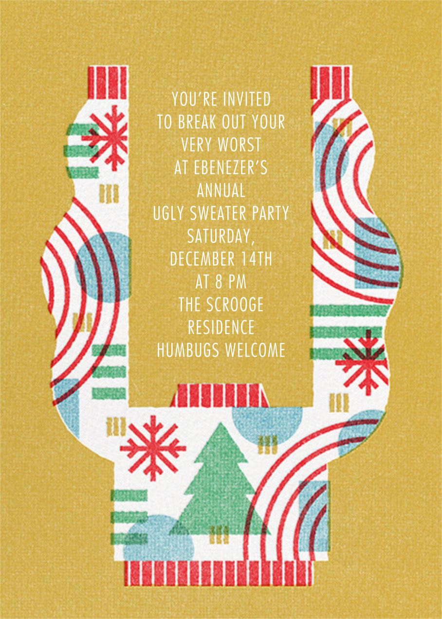 Raise the Roof - Paperless Post - Christmas party