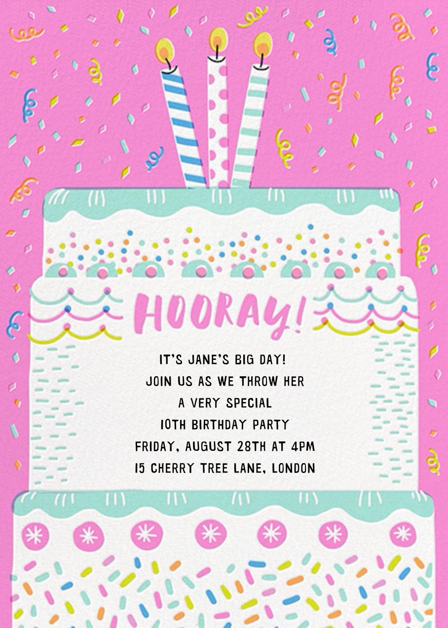 Cake it Happen - Hello!Lucky - Kids' birthday