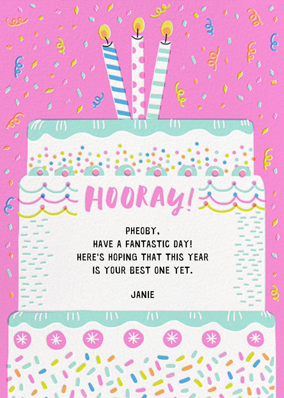 Cake it Happen - Hello!Lucky