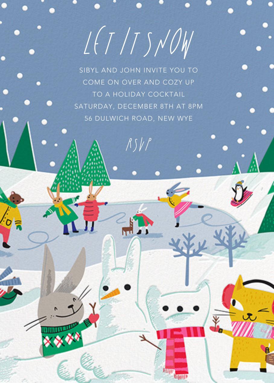 Snow Critters - Hello!Lucky - Winter entertaining