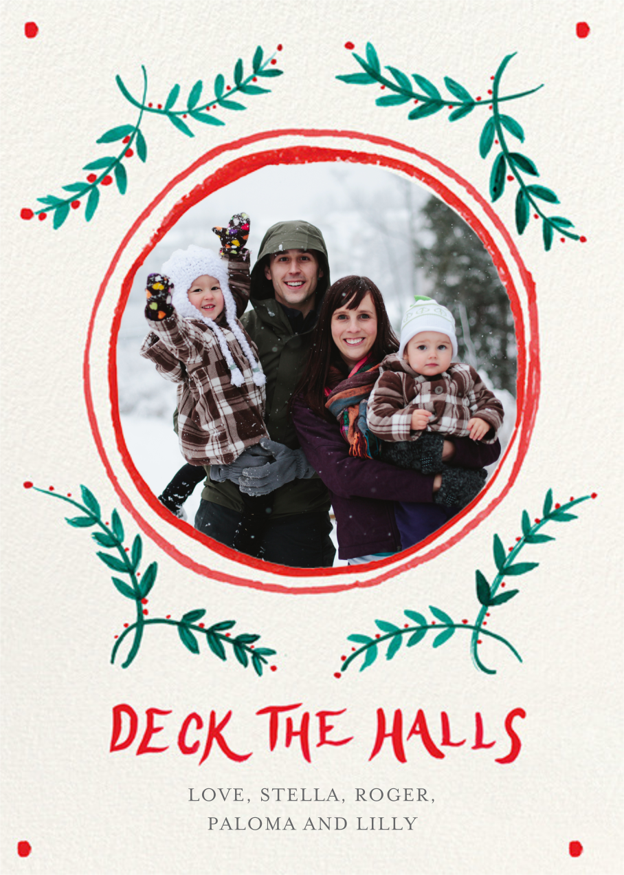 Merry Berries - Mr. Boddington's Studio - Holiday cards