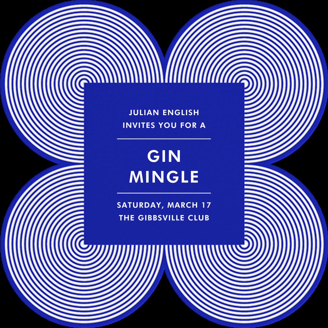 Melrose - Blue - Jonathan Adler - Casual entertaining