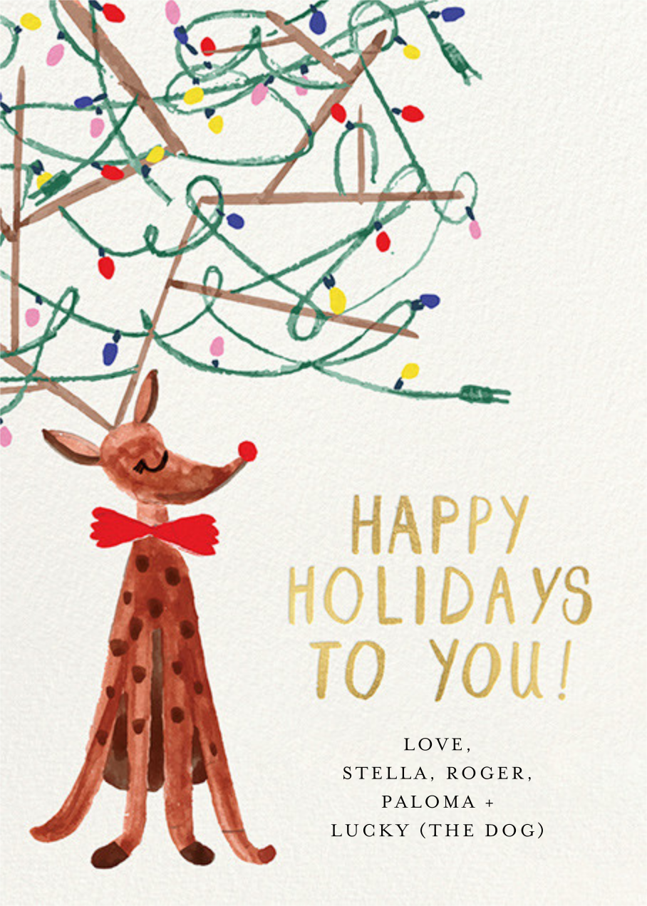 Festive Antlers - Mr. Boddington's Studio