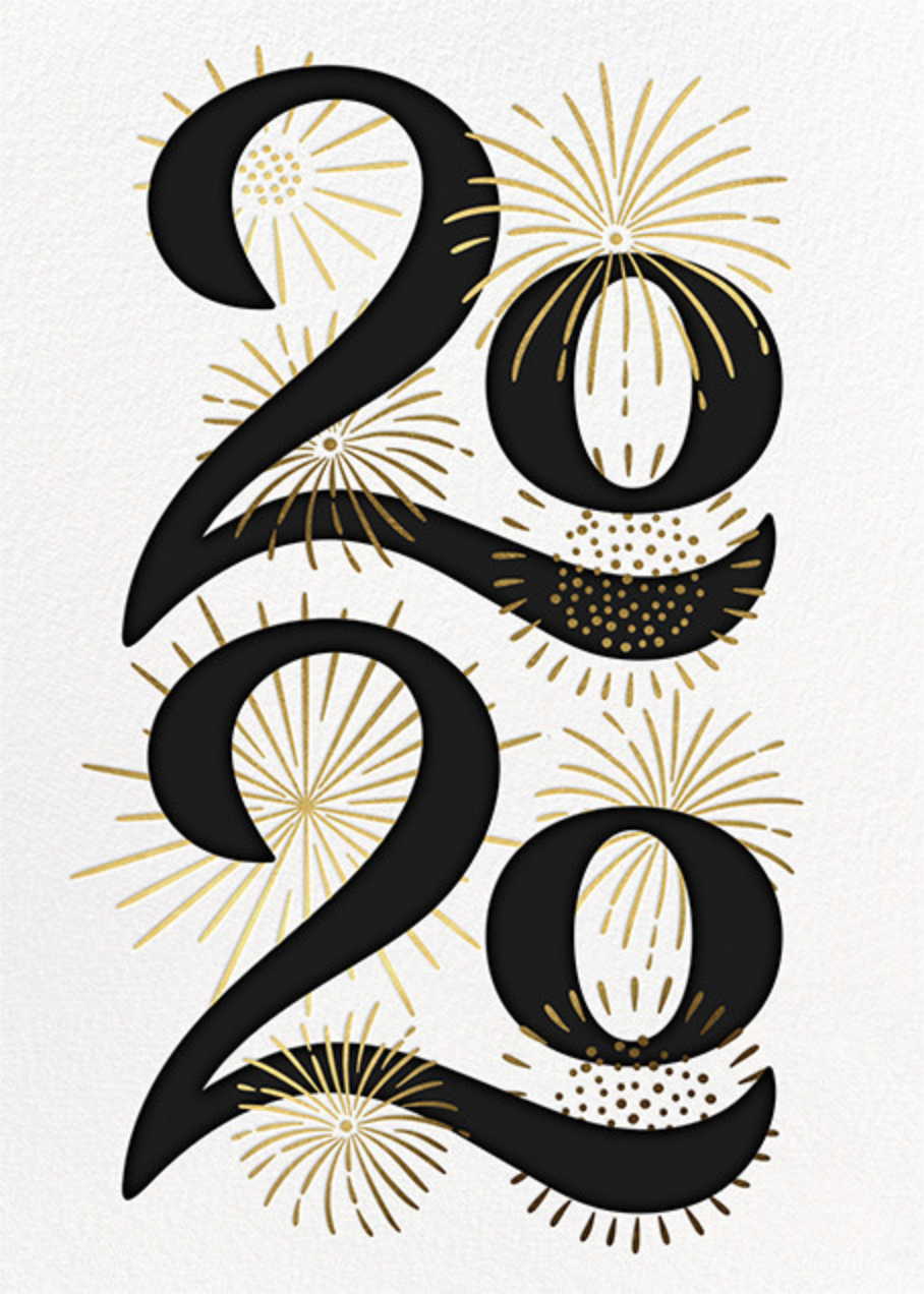 A Sparkling New Year - Paperless Post - New Year