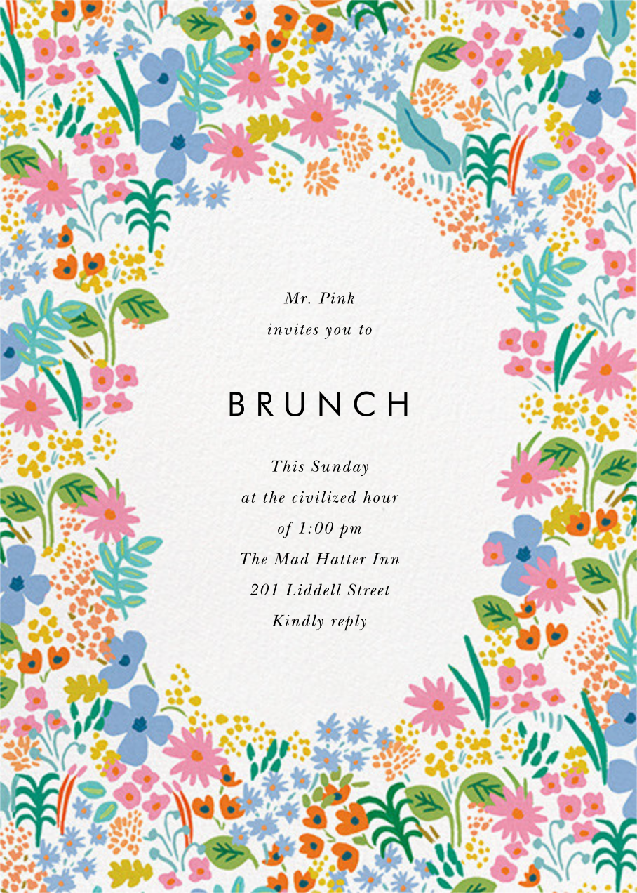 Spring Meadow  - Rifle Paper Co. - Brunch