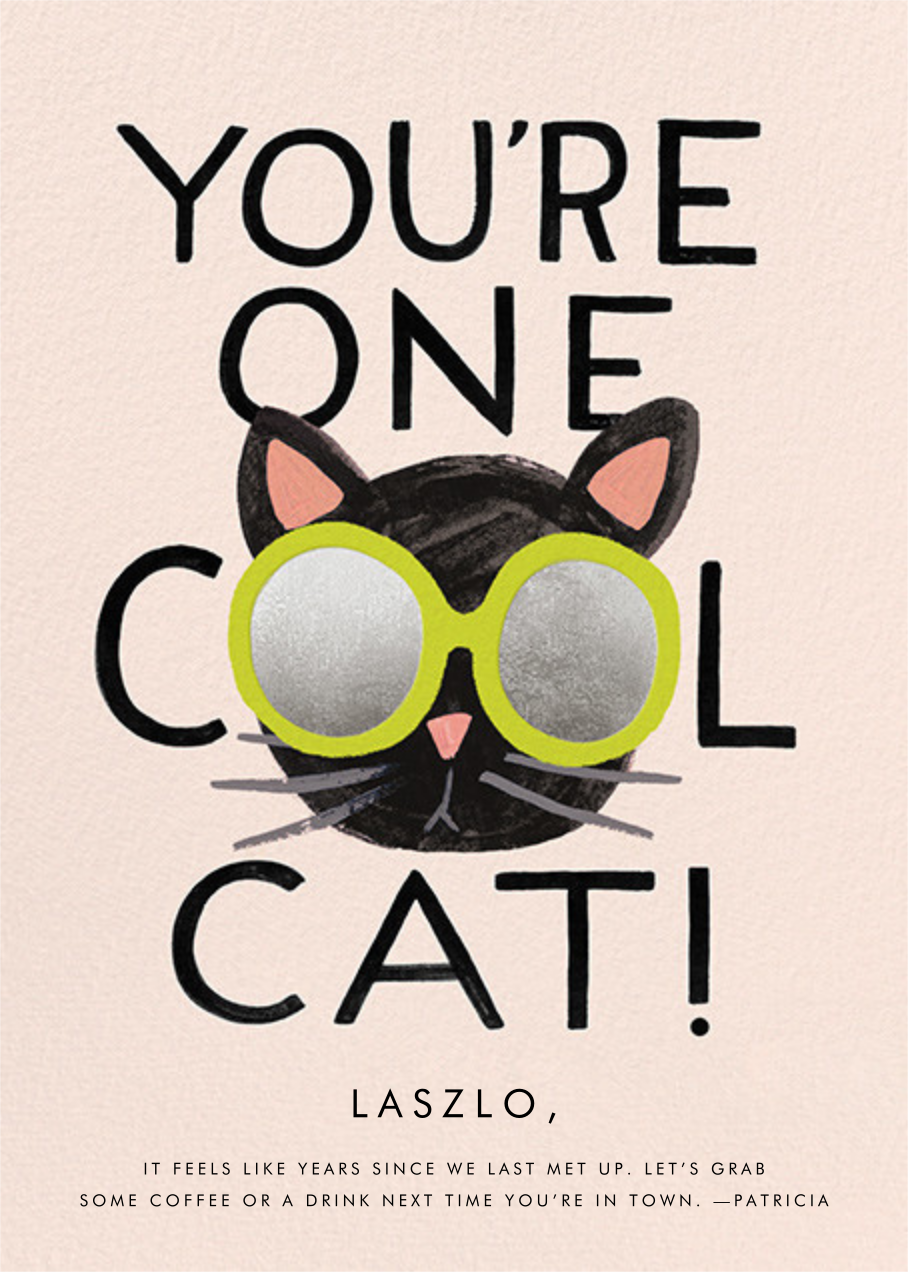 Cool Cat - Rifle Paper Co. - Just because