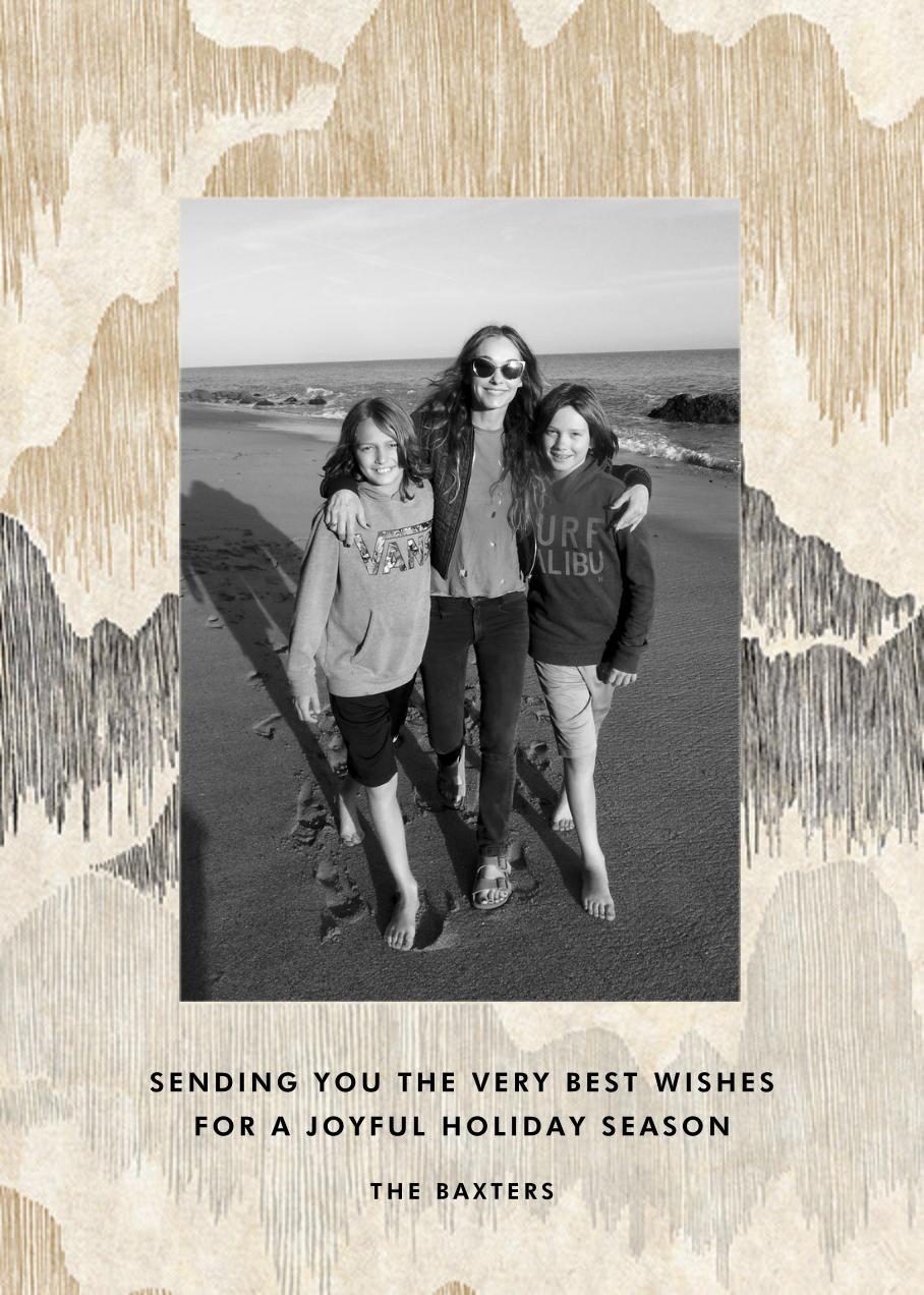 Cascadia - Ivory - Kelly Wearstler - Holiday cards