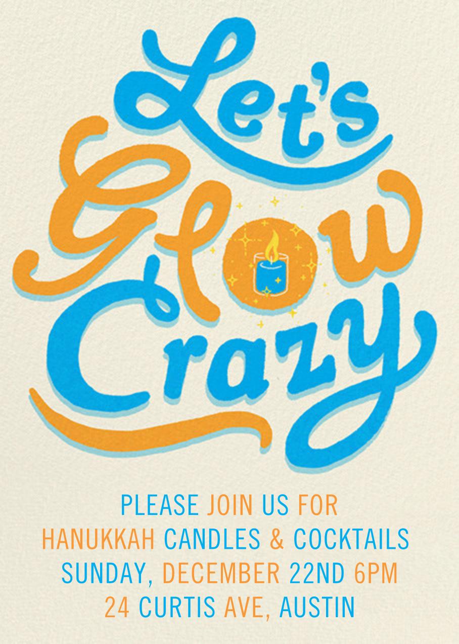 Glow Crazy - Paperless Post - Hanukkah