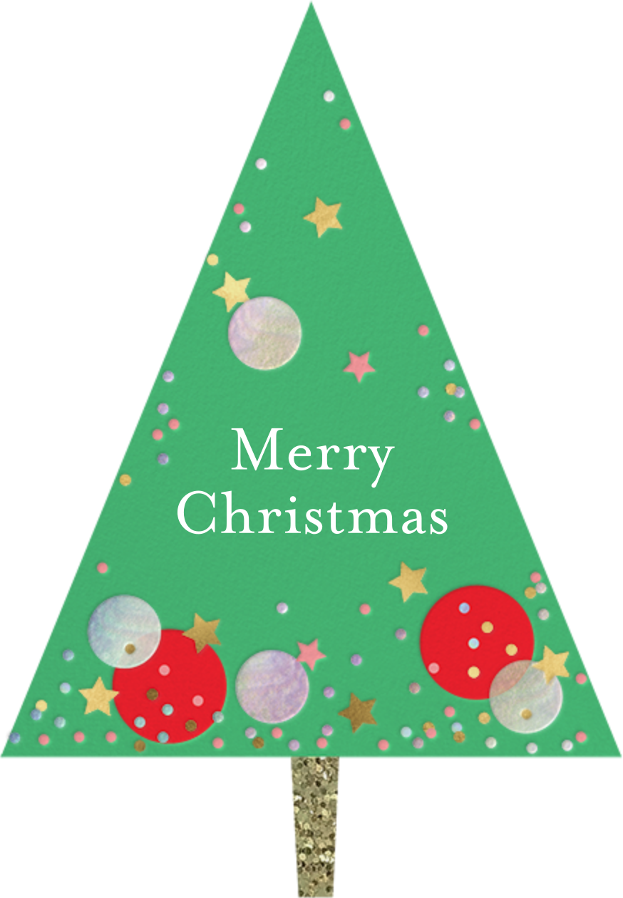 Confetti Tree - Meri Meri - Christmas