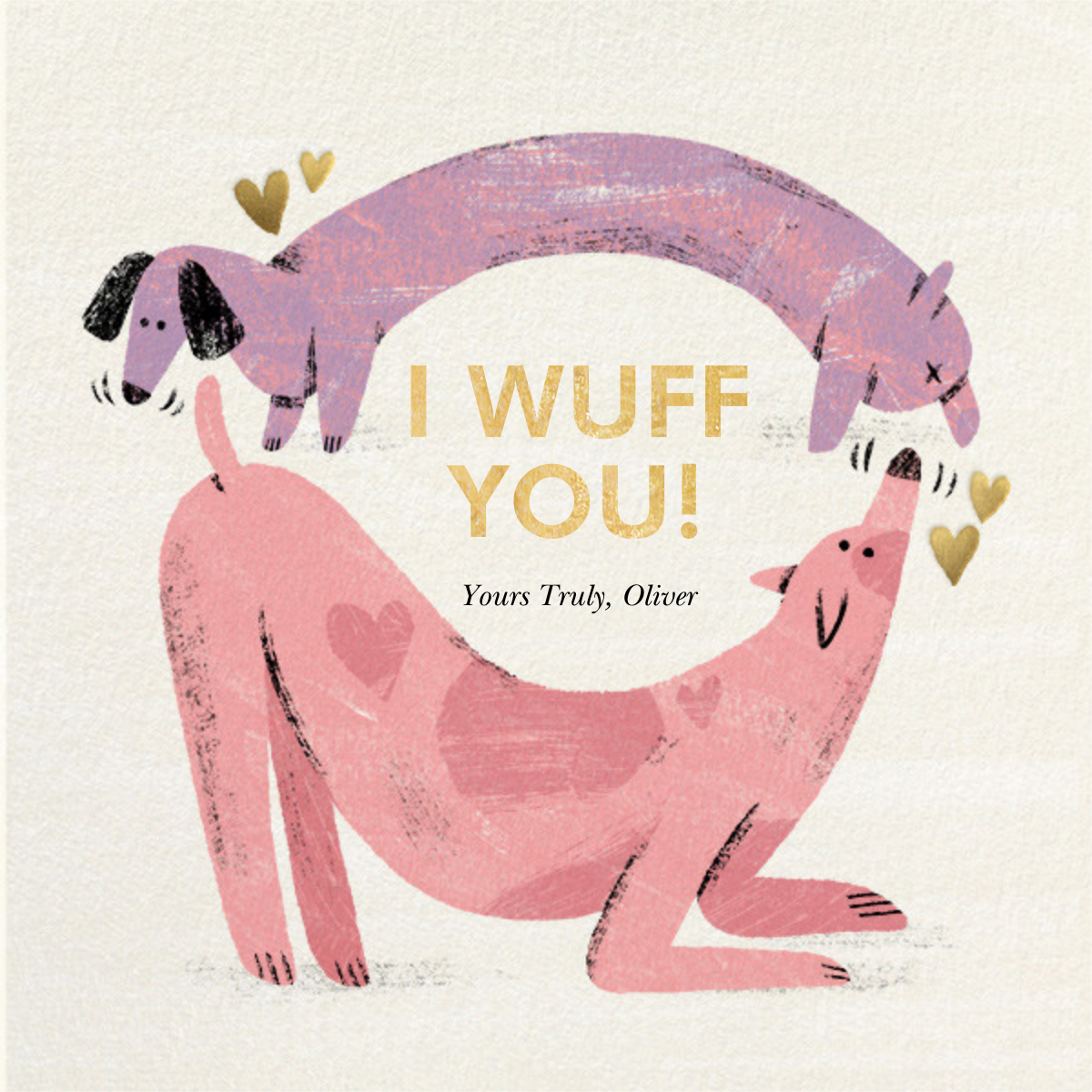 Crazy Fur You - Paperless Post - Anniversary cards