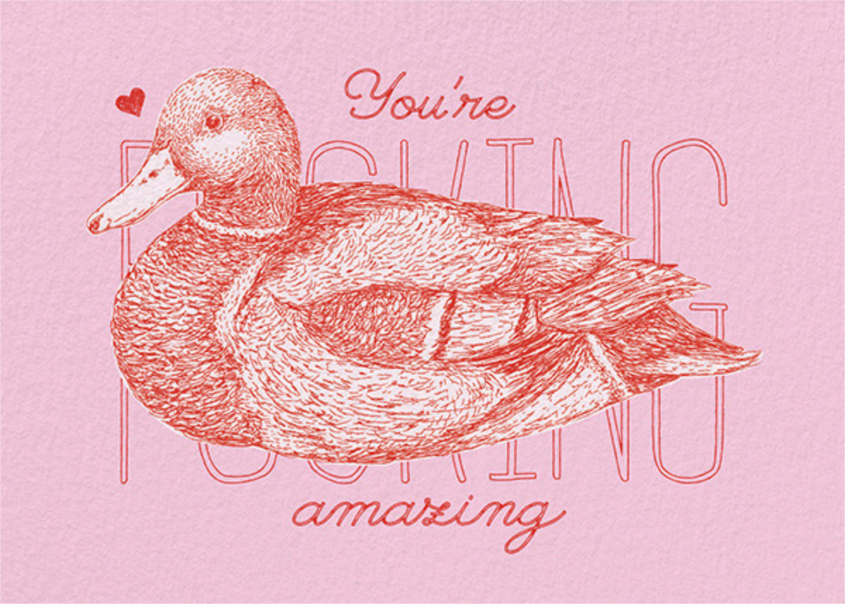 Ducking Amazing - Paperless Post - Valentine's Day