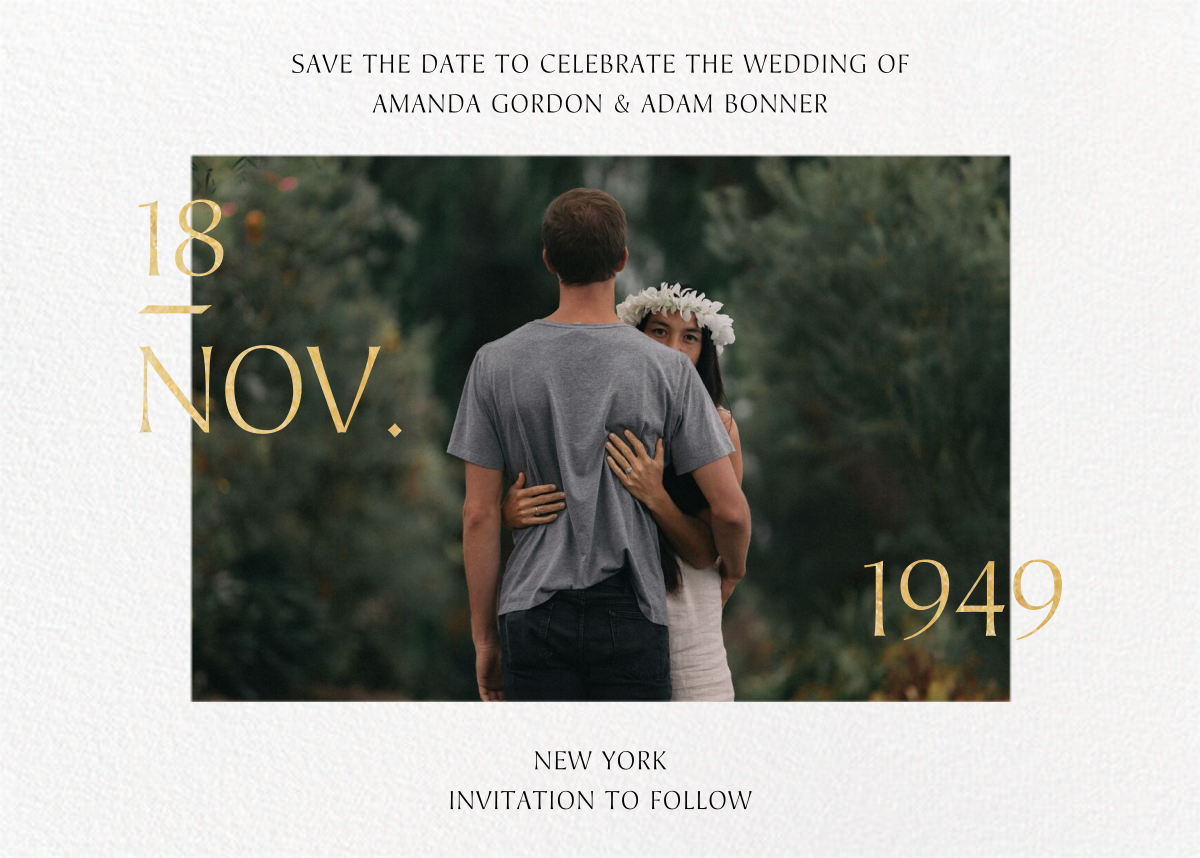 Auspicious - Paperless Post - Save the date