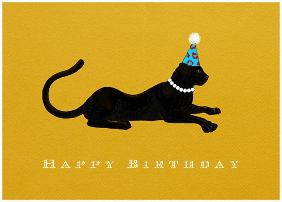 Panther Birthday - Paperless Post - Birthday
