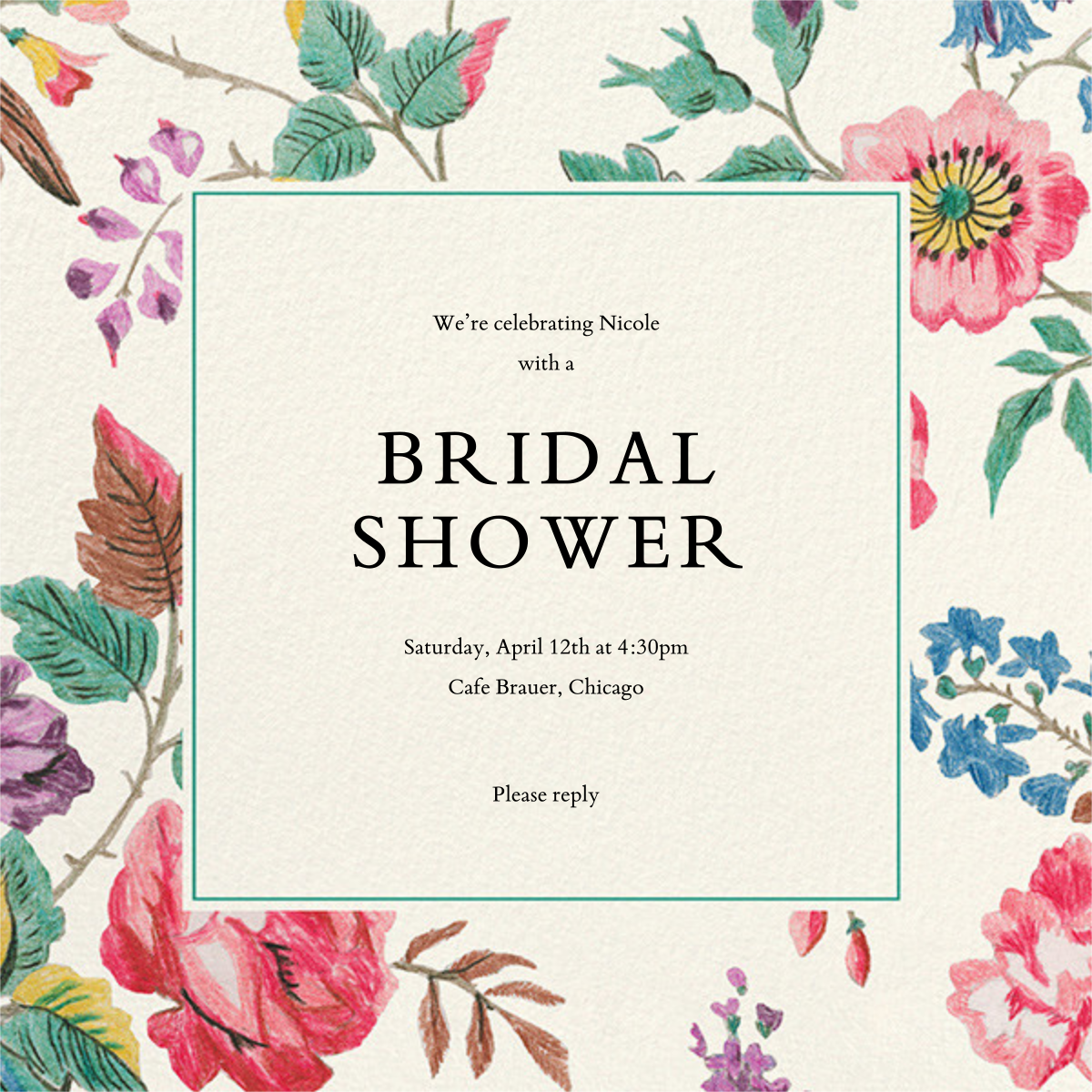 Millie - Liberty - Bridal shower