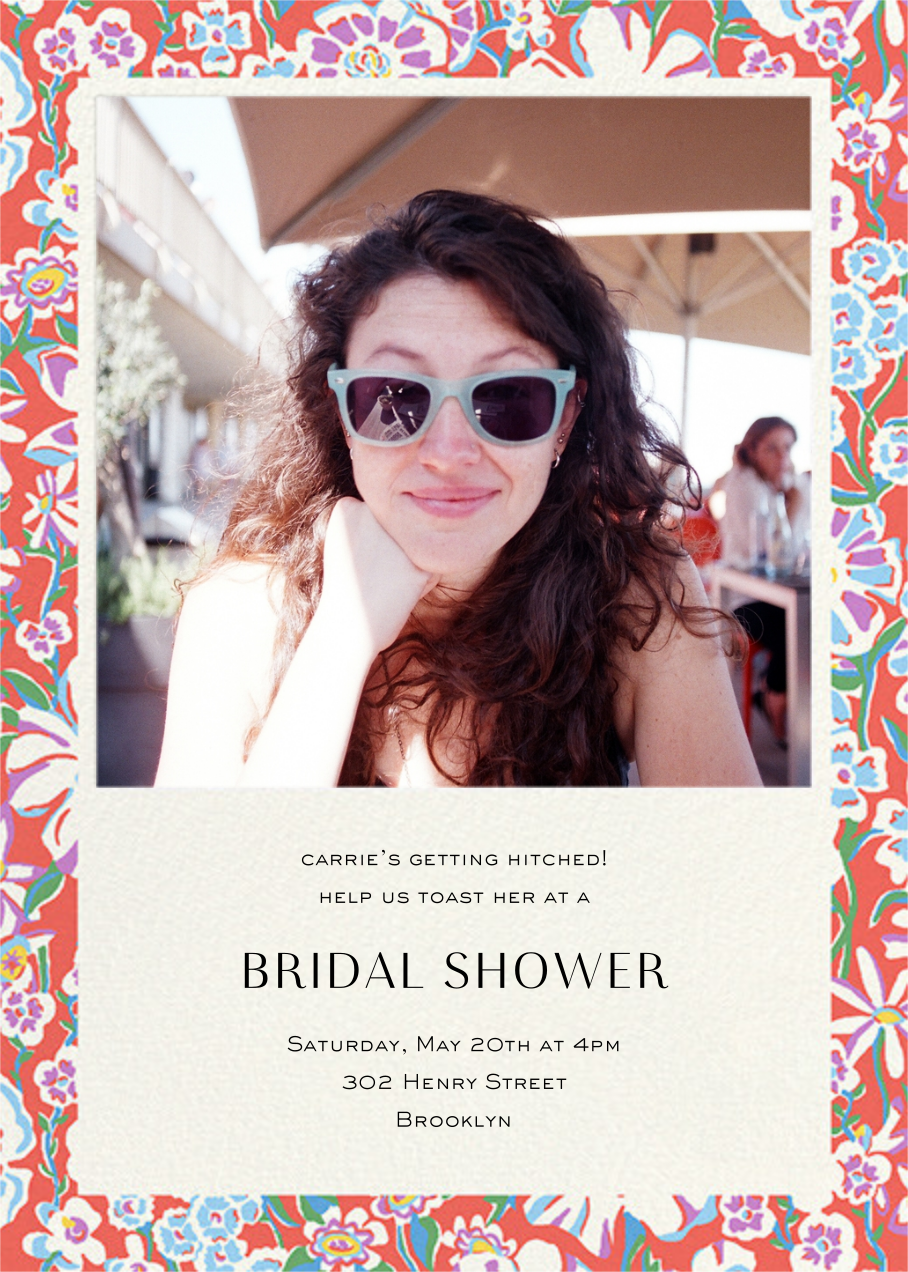 Annabel - Liberty - Bridal shower