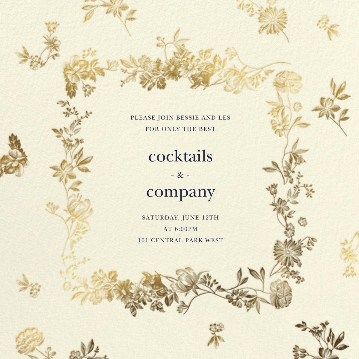 Royal Botanical - Cream - Oscar de la Renta