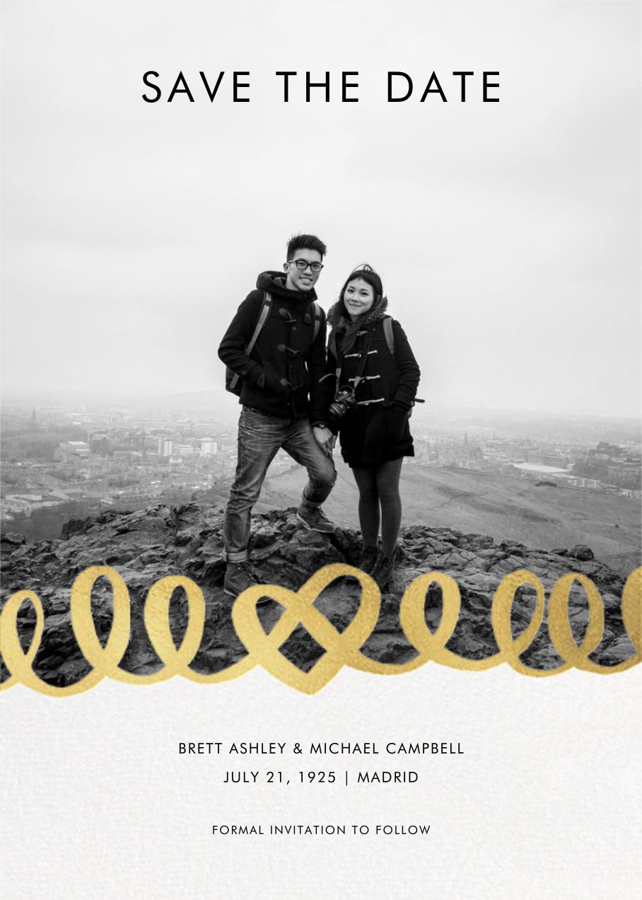 Love Doodle - Gold - kate spade new york