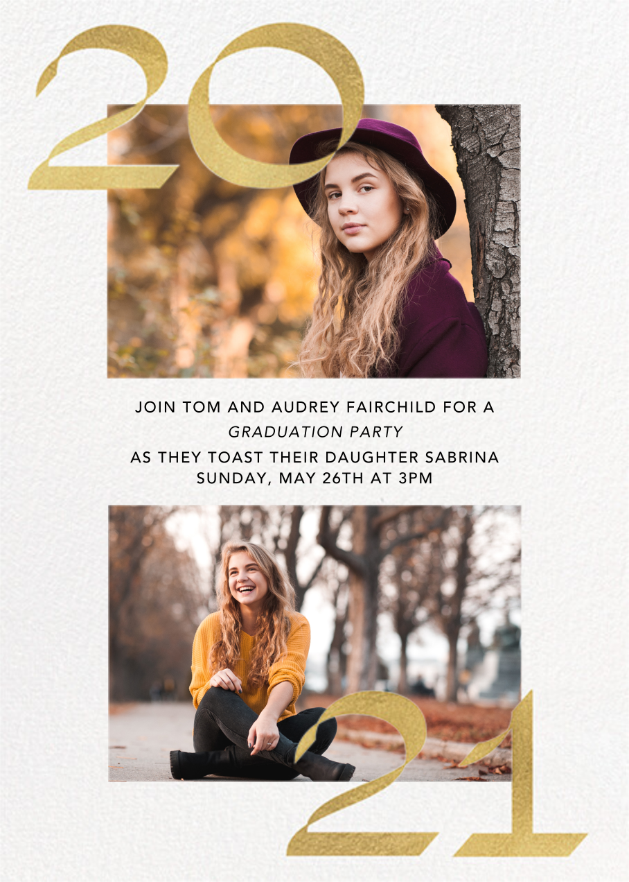 Bookends - Paperless Post - Graduation party