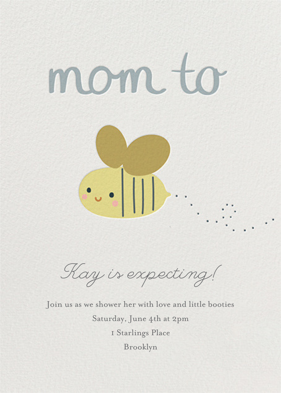 Baby Buzz - Little Cube - Baby shower
