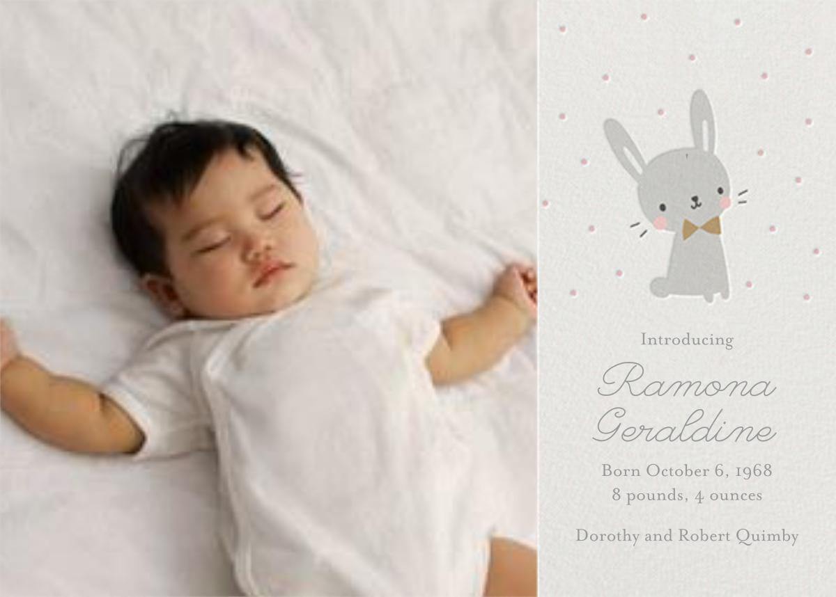 Baby Bunny Photo - Little Cube - Birth