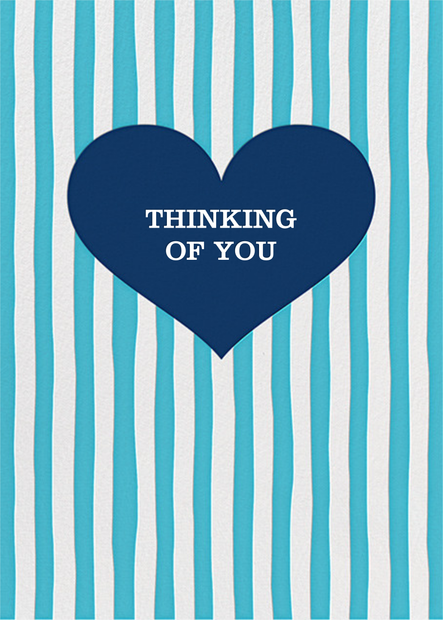 Glory of Love - Blue - Jonathan Adler - Thinking of you