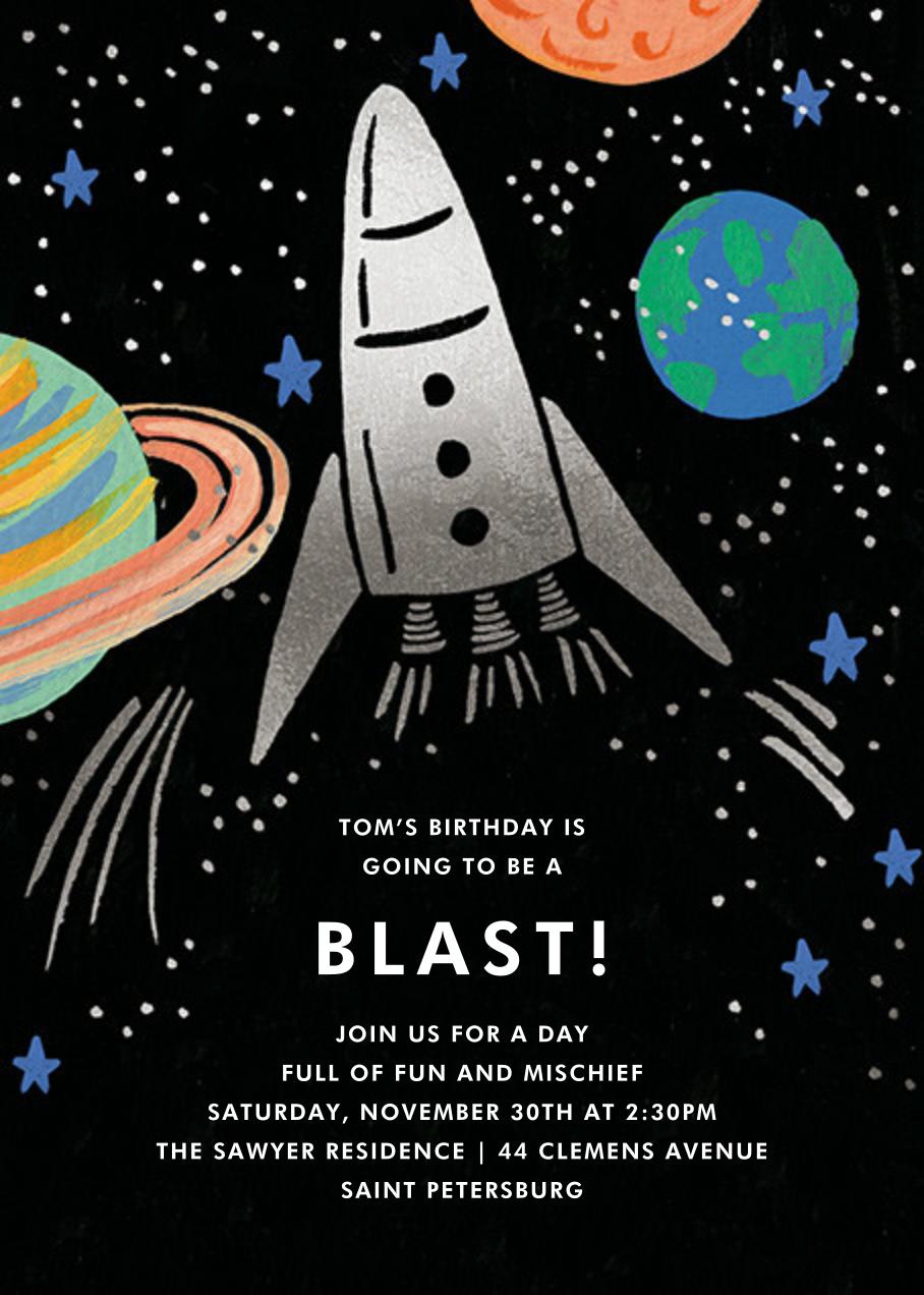 Birthday Blast (Invitation) - Rifle Paper Co. - Kids' birthday
