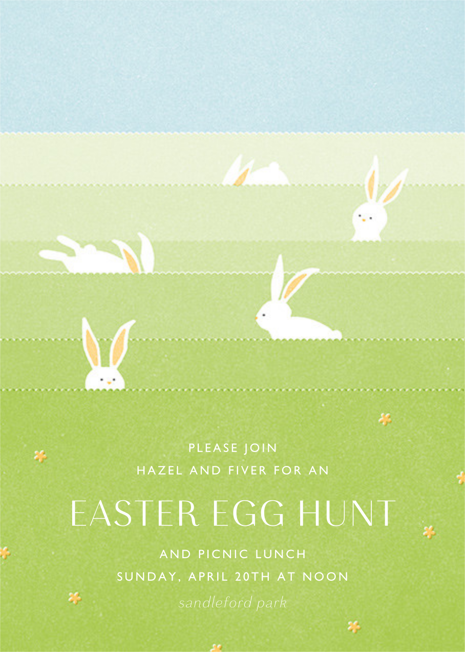 Catch Me If You Can - Paperless Post - Easter